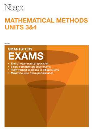 VCE Mathematical Methods Units 3&4 Smartstudy Exams