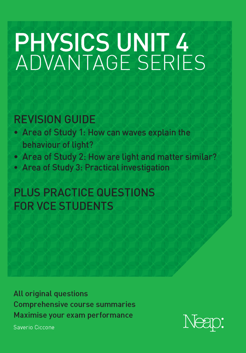 Advantage Series: Physics Unit 4 (2018 Ed)